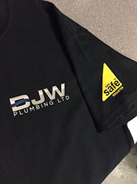 branded workwear, custom corporate polo shirts, embroidered polo